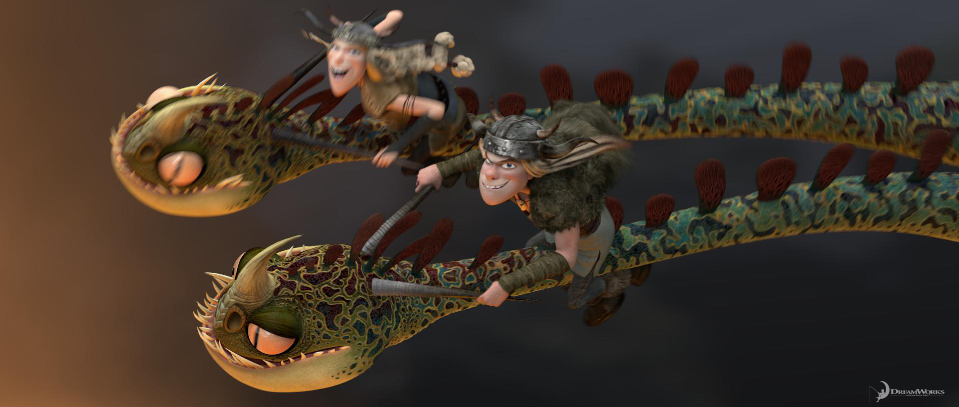 Sandy tie dong how to train your dragon two headed dragon and tuffnut ccuart Images